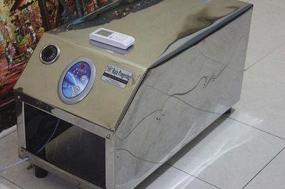 Mesin Pengering Pakaian Gas